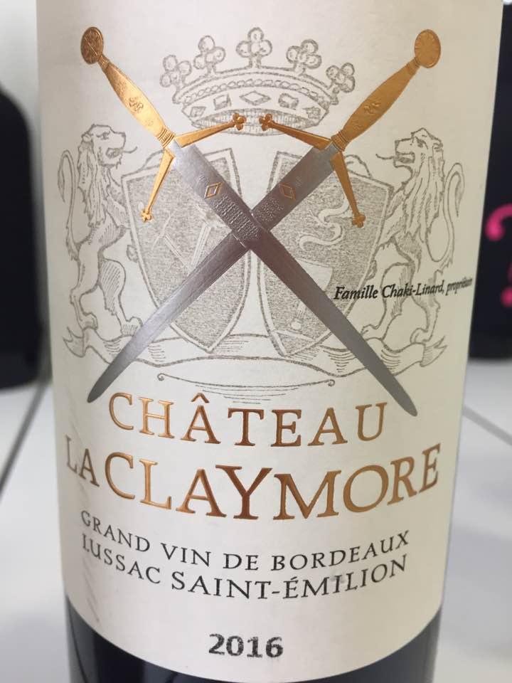 Château La Claymore 2016 – Lussac Saint-Emilion