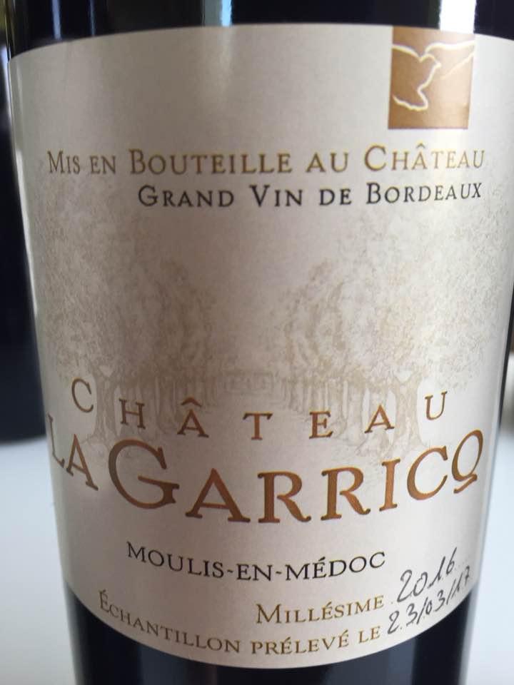 Château La Garricq 2016 – Moulis-en-Médoc