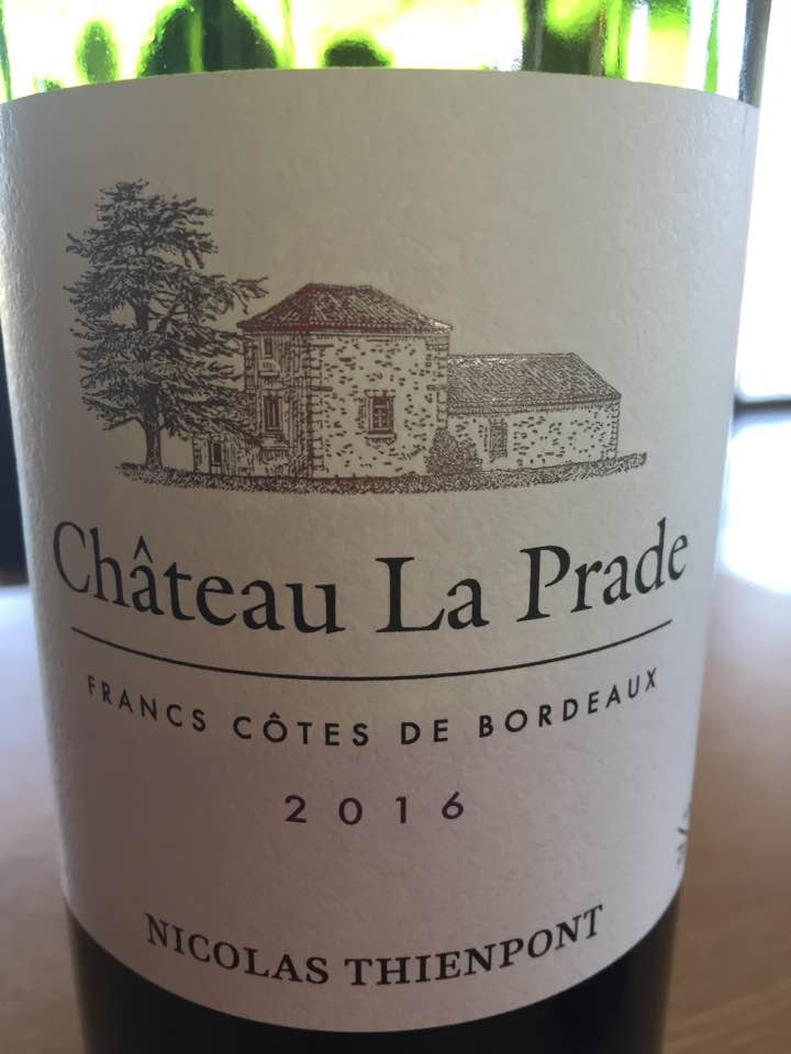 Château La Prade 2016 – Francs Côtes de Bordeaux