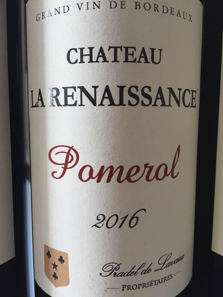 Château La Renaissance 2016 – Pomerol