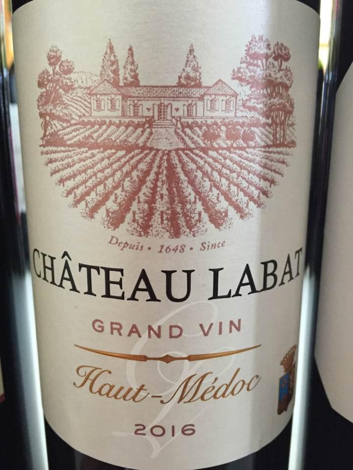 Château Labat 2016 – Haut-Médoc
