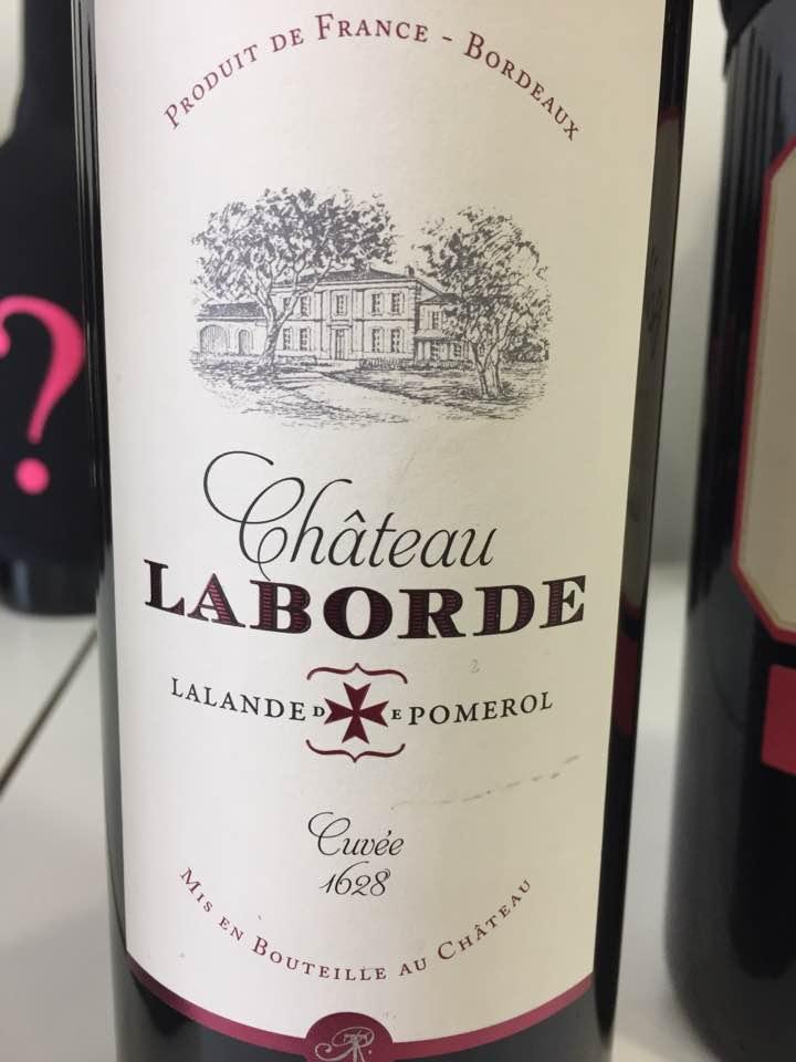 Château Laborde – Cuvée 1628 millésime 2016 – Lalande-de-Pomerol