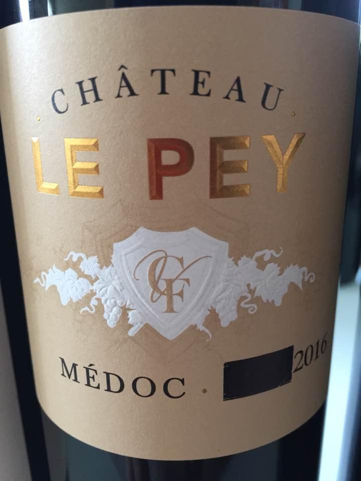 Château Le Pey 2016 – Médoc