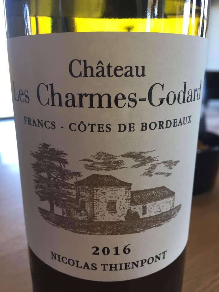 Château Les Charmes-Godard 2016 – Francs Côtes-de-Bordeaux