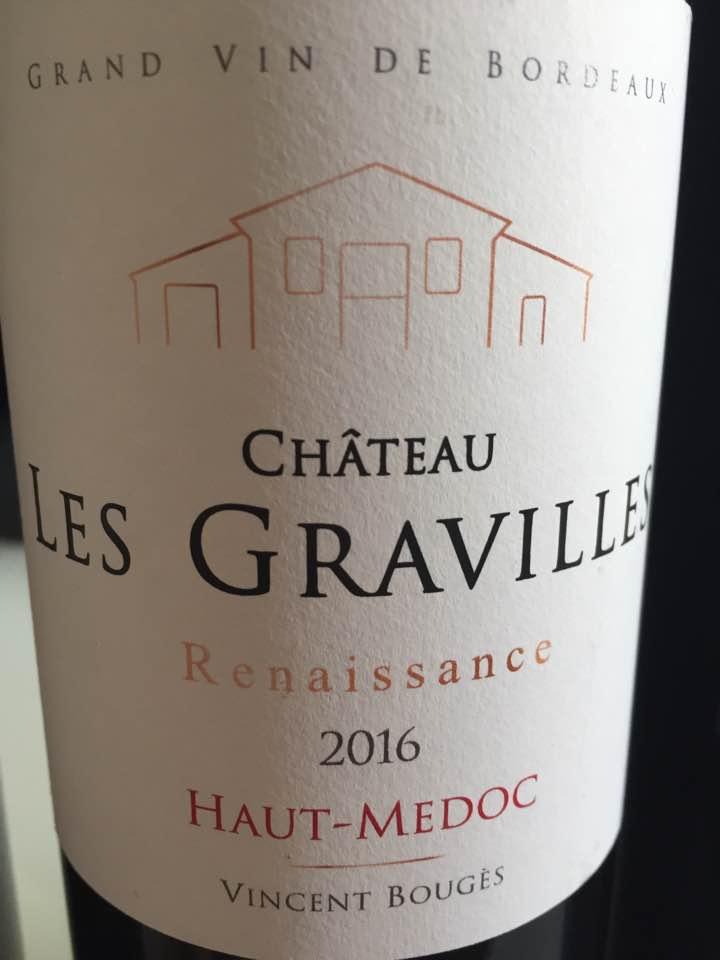 Château Les Gravilles 2016 – Haut-Médoc