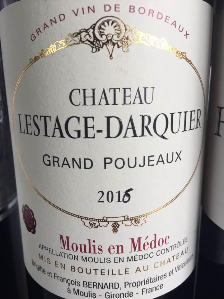 Château Lestage Darquier 2016 – Moulis-en-Médoc