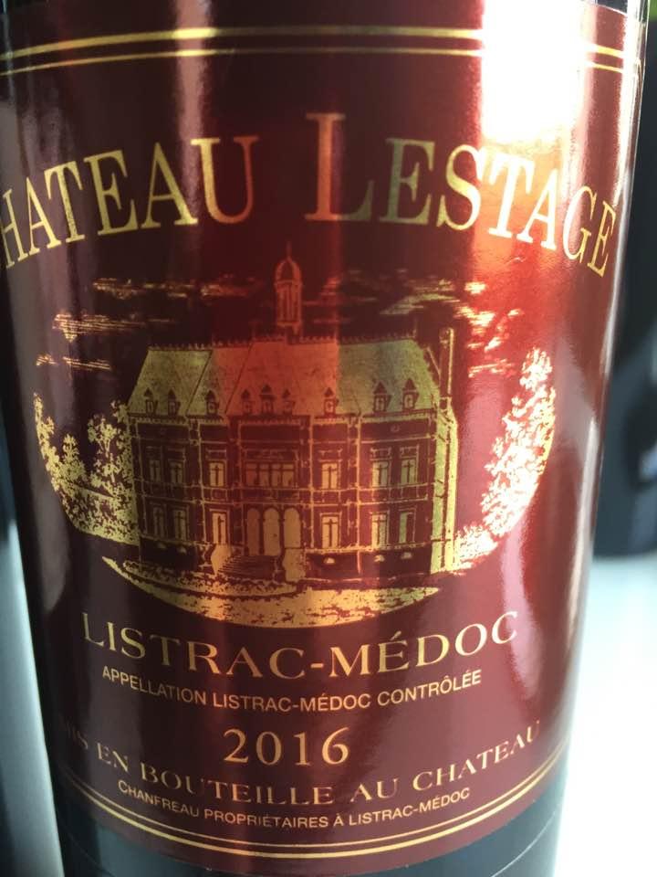 Château Lestage 2016 – Listrac-Médoc