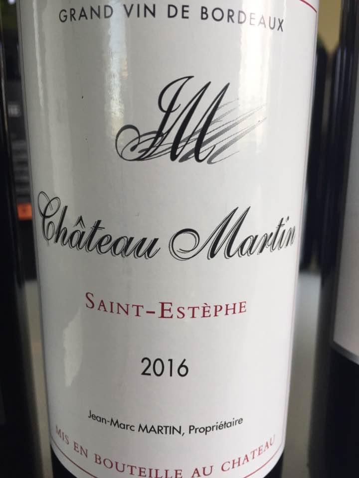 Château Martin 2016 – Saint-Estèphe