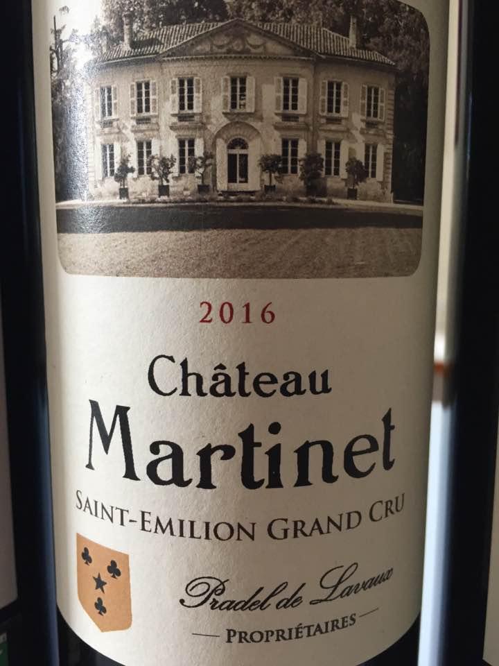 Château Martinet 2016 – Saint-Emilion Grand Cru