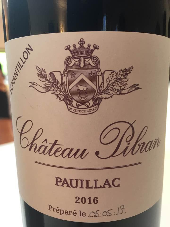 Château Pibran 2016 – Pauillac