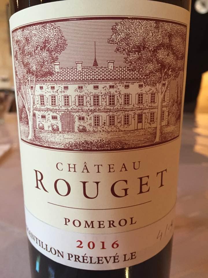 Château Rouget 2016 – Pomerol