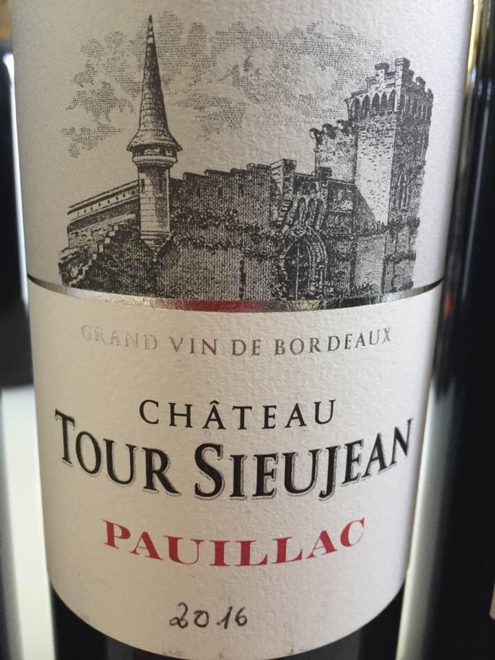 Château Tour Sieujan 2016 – Pauillac