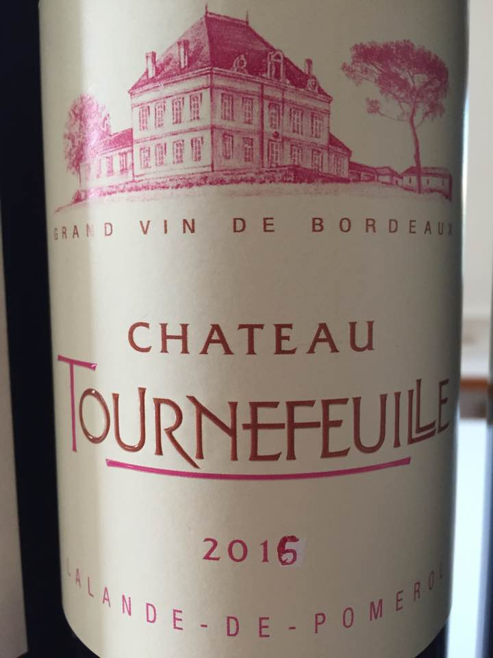 Château Tournefeuille 2016 – Lalande-de-Pomerol