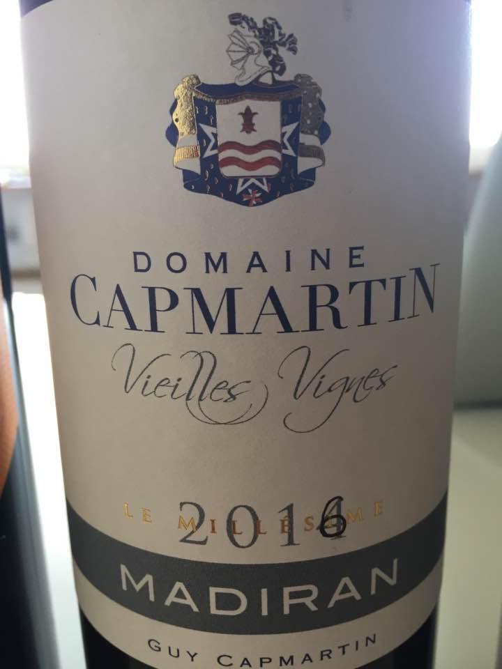Domaine Capmartin – Vieilles Vignes 2016 – Madiran