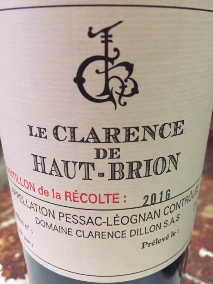 Le Clarence de Haut-Brion 2016 – Pessac-Léognan
