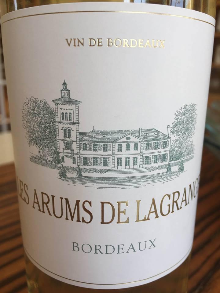 Les Arums de Lagrange 2016 – Bordeaux