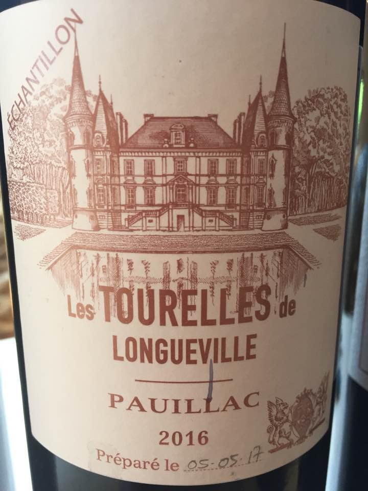 Les Tourelles de Longueville 2016 – Pauillac