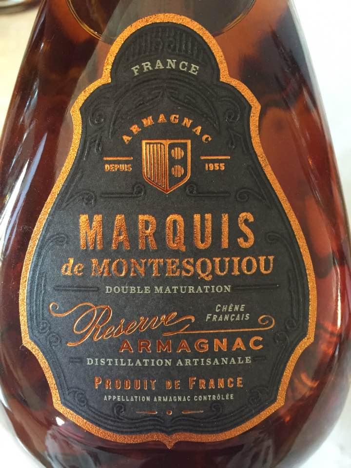 Marquis de Montesquiou – Réserve – Armagnac