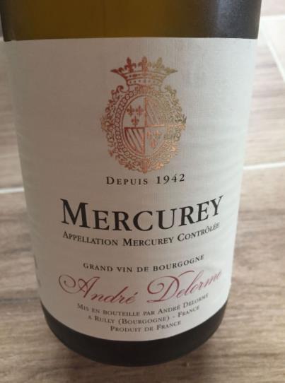 André Delorme 2014 – Mercurey
