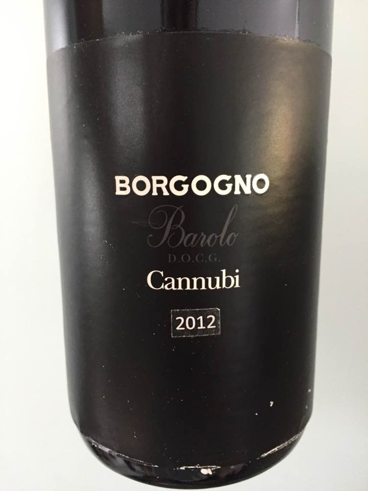 Borgogno – Cannubi 2012 – Barolo DOCG