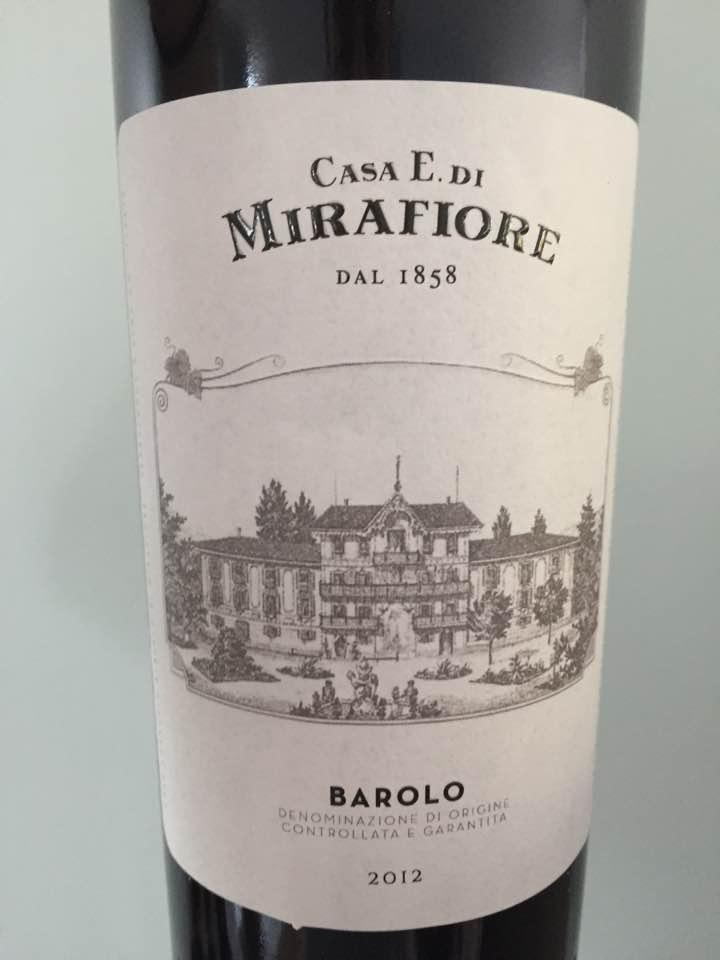 Casa E. di Mirafiore 2012 – Barolo