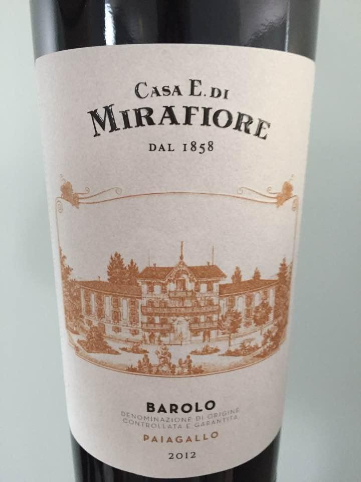 Casa E. Di Mirafiore – Paiagallo 2012 – Barolo