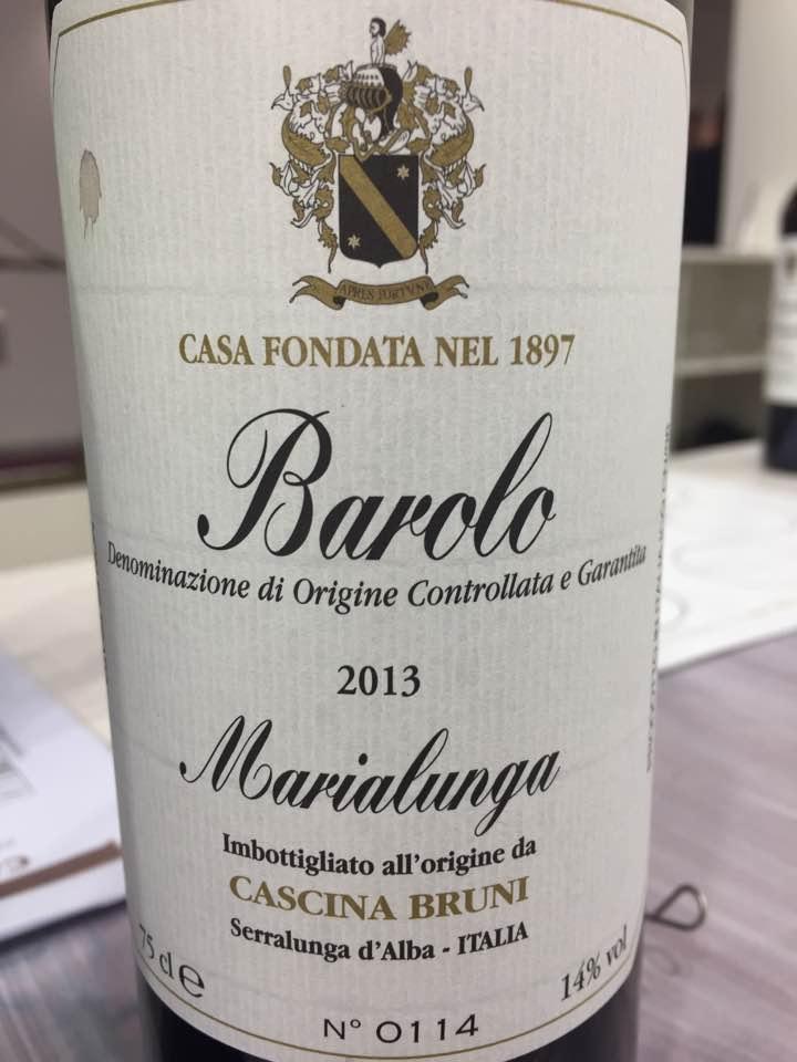 Cascina Bruni – Barolo Marialunga 2013 – Barolo