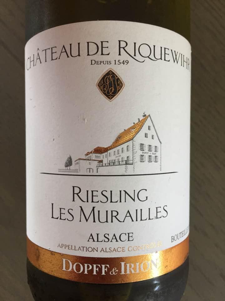 Château de Riquewihr – Les Murailles 2011 Riesling – Alsace