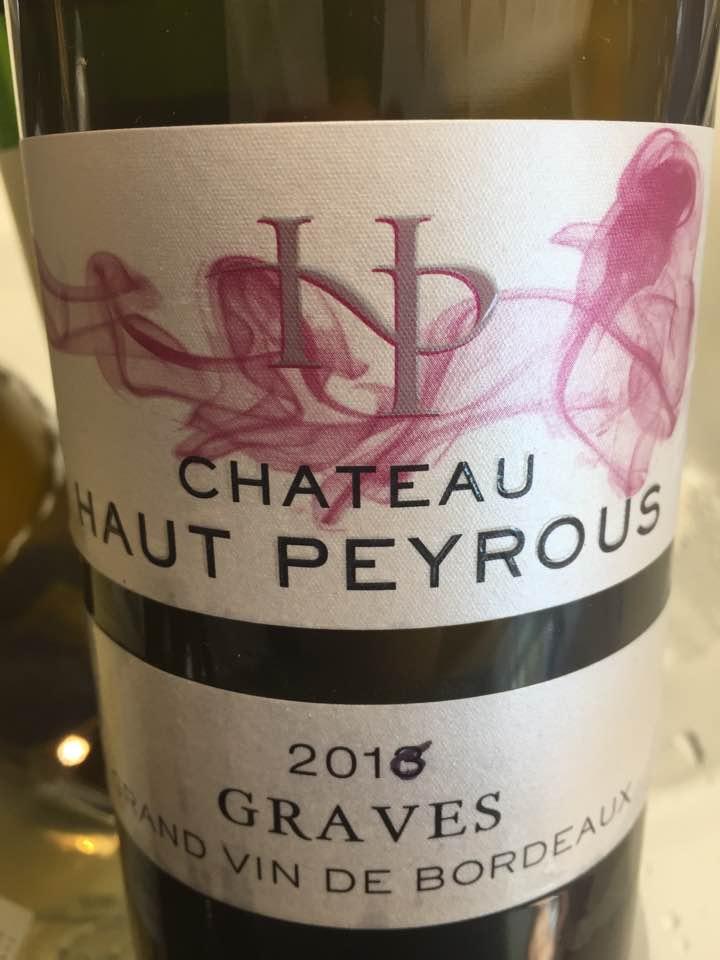 Château Haut-Peyrous 2016 – Graves