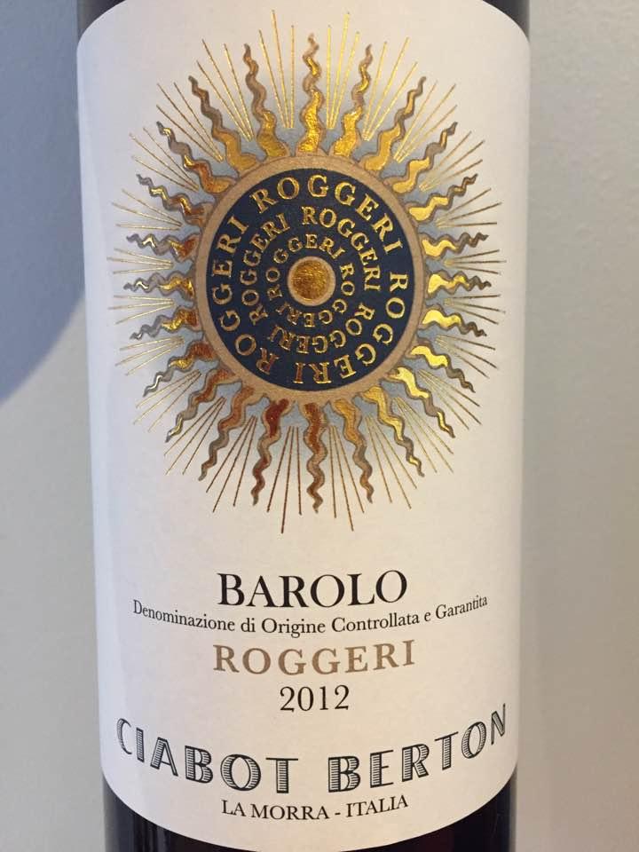 Ciabot Berton – Roggeri 2012 – Barolo