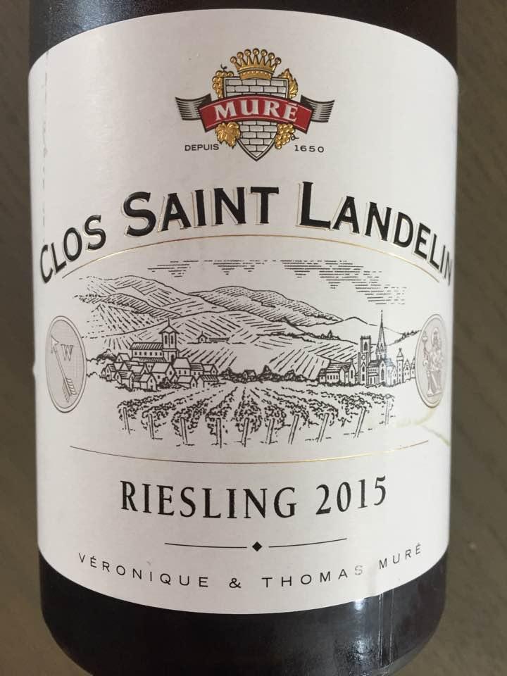 Clos Saint Landelin – Riesling 2015 – Alsace