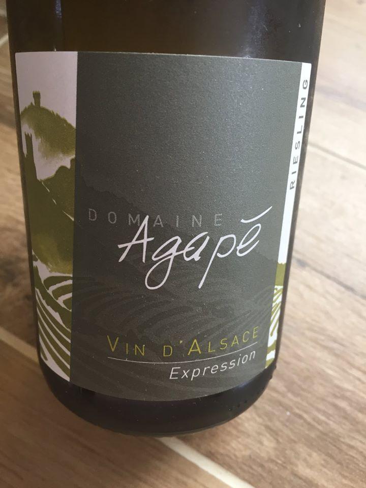 Domaine Agapé – Expression 2015 – Alsace