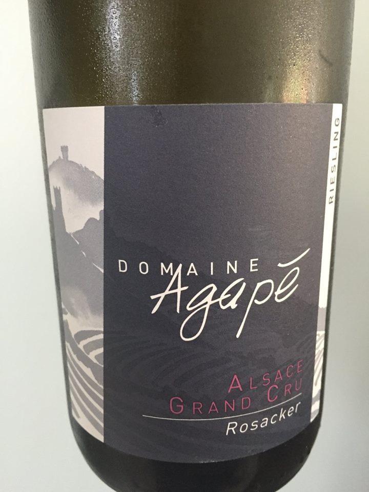 Domaine Agapé – Riesling 2014 – Alsace Grand Cru Rosacker