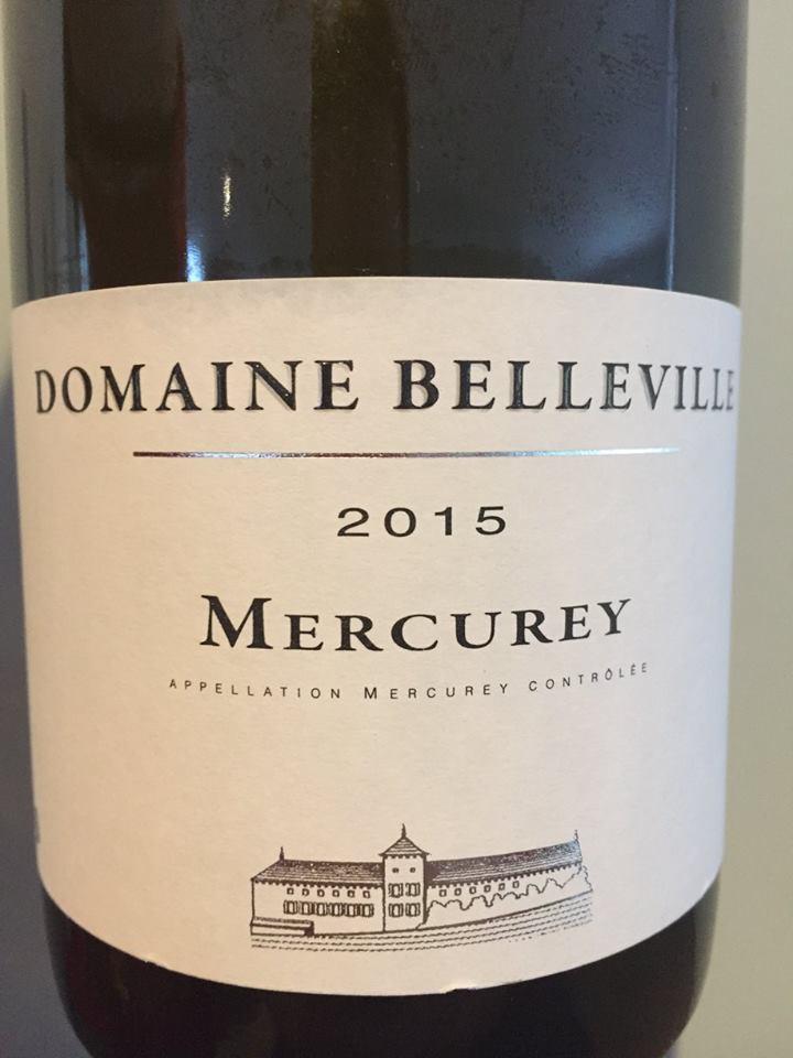 Domaine Belleville 2015 – Mercurey