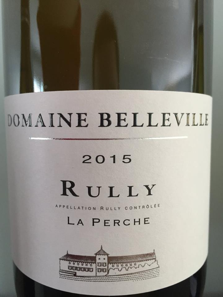 Domaine Belleville – La Perche 2015 – Rully