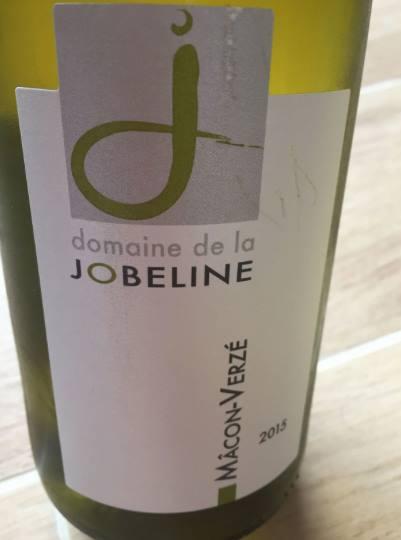 Domaine de la Jobeline 2015 – Macôn Verzé