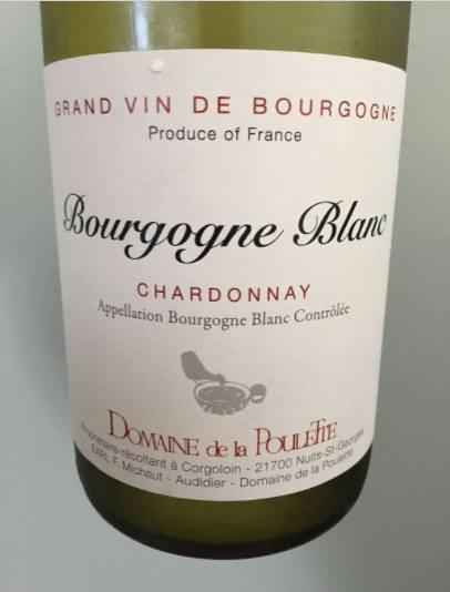Domaine de la Poulette – Chardonnay 2014 – Bourgogne Blanc