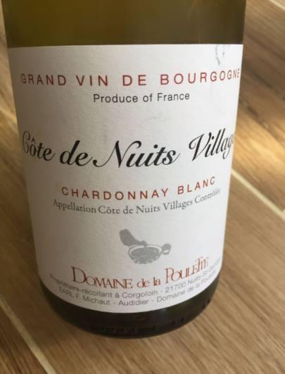 Domaine de la Poulette – Chardonnay Blanc 2015 – Côte de Nuits Villages