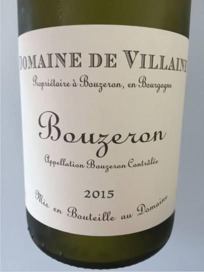 Domaine de Villaine 2015 – Bouzeron