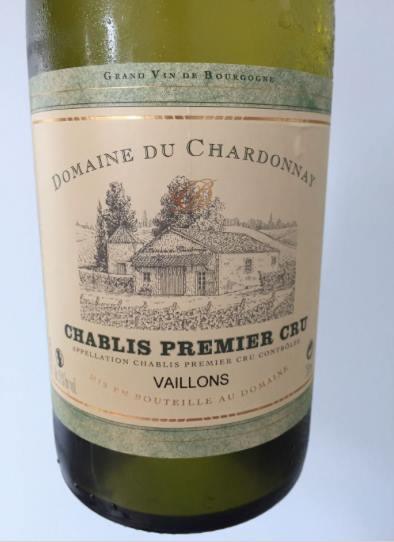 Domaine du Chardonnay – Vaillons 2015 – Chablis Premier Cru