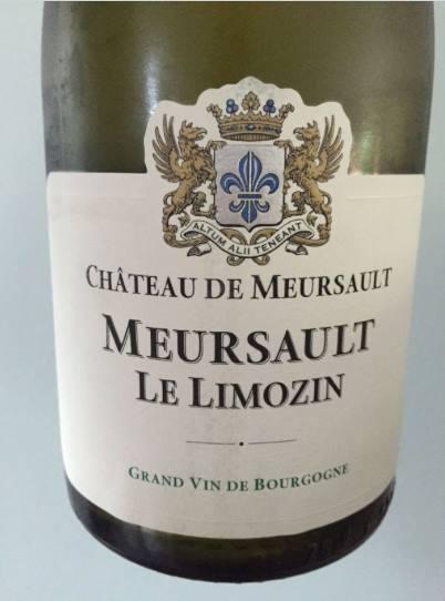 Domaine du Château de Meursault – Le Limozin 2015 – Meursault