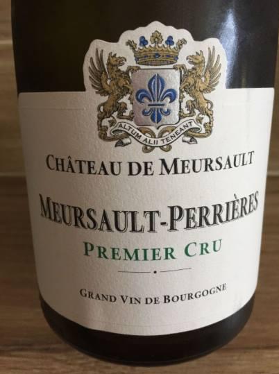 Domaine du Château de Meursault – Meursault-Perrières 2014 Premier Cru – Meursault
