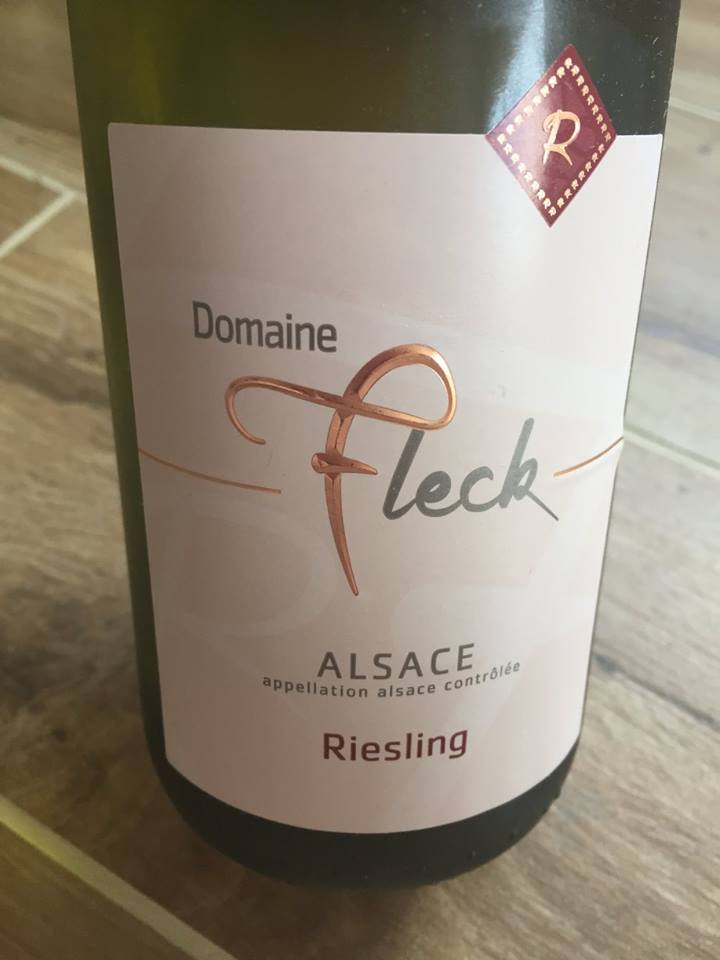 Domaine Fleck – Riesling 2016 – Alsace