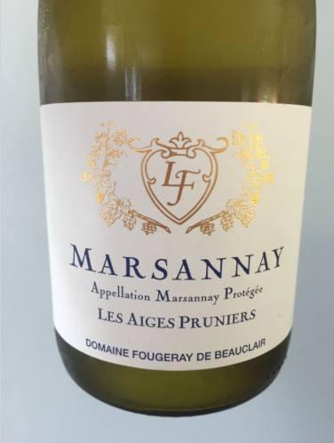 Domaine Fougeray de Beauclair – Les Aiges Pruniers 2015 – Marsannay