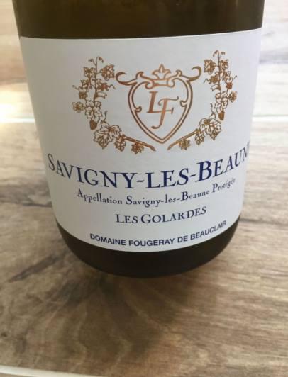 Domaine Fougeray de Beauclair – Les Golardes 2015 – Savigny-les-Beaune