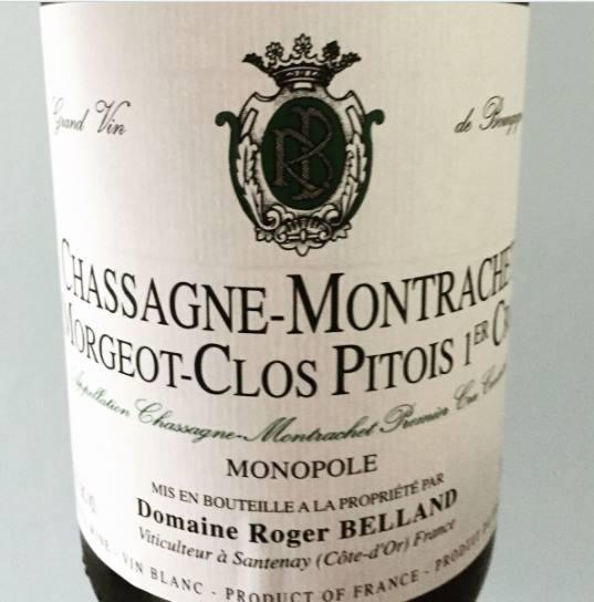 Domaine Roger Belland – Morgeot-Clos Pitois 2015 – Monopole – Chassagne-Montrachet 1er Cru
