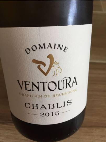 Domaine Ventoura 2015 – Chablis