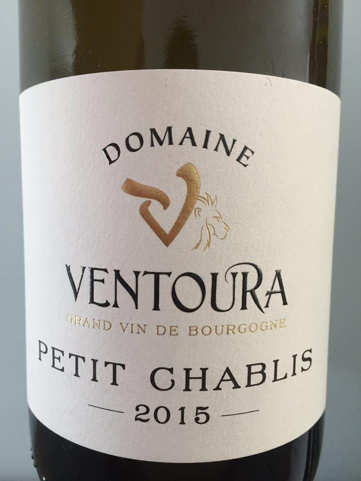 Domaine Ventoura 2015 – Petit Chablis