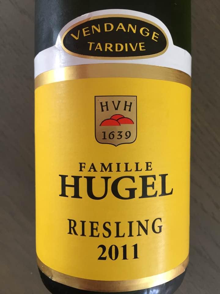 Famille Hugel – Riesling 2011 Vendange Tardive – Alsace