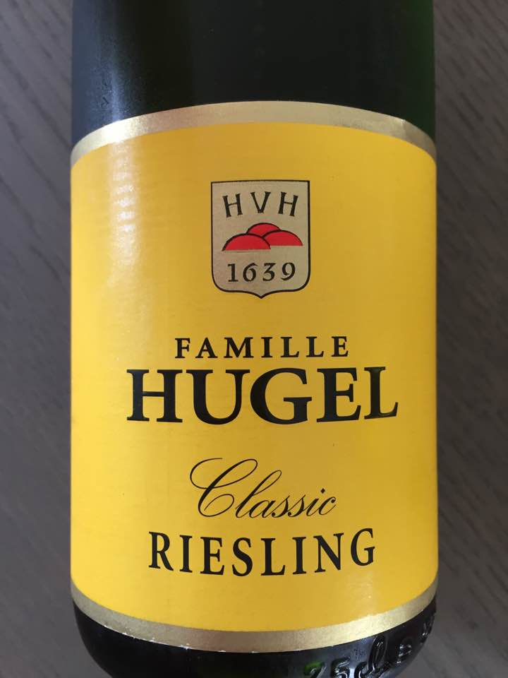 Famille Hugel – Riesling 2015 Classic – Alsace